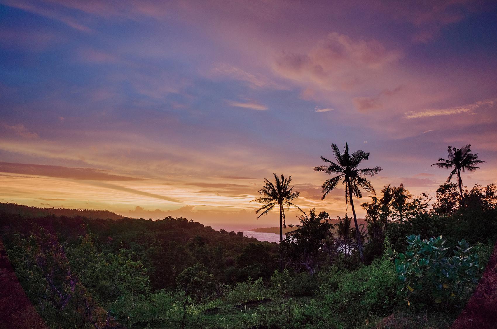 Sunset in Batan Sabo