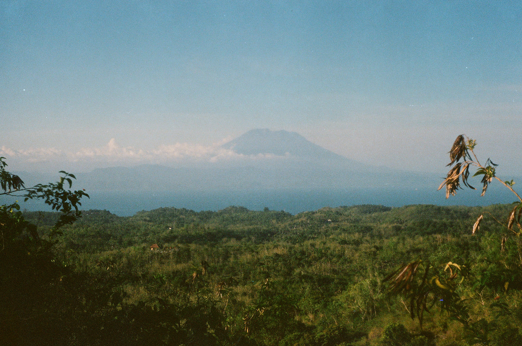 the Majestic of Mount Agung
